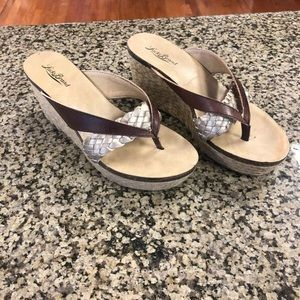 Lucky Brand Wedges Womens 7